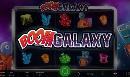 Boom Galaxy - Online Slot Logo