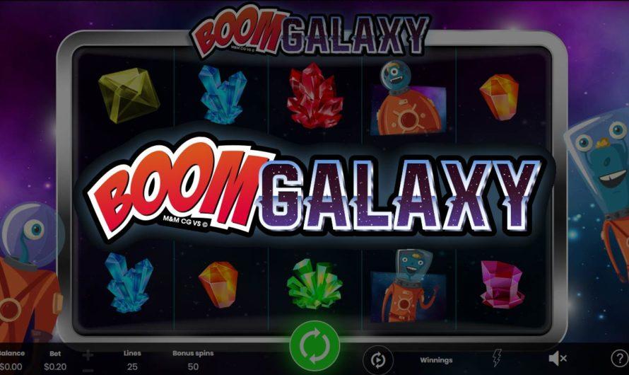 50 Free Spins – Boom Galaxy