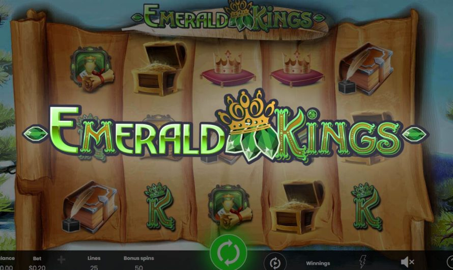 50 Free Spins – Emerald Kings
