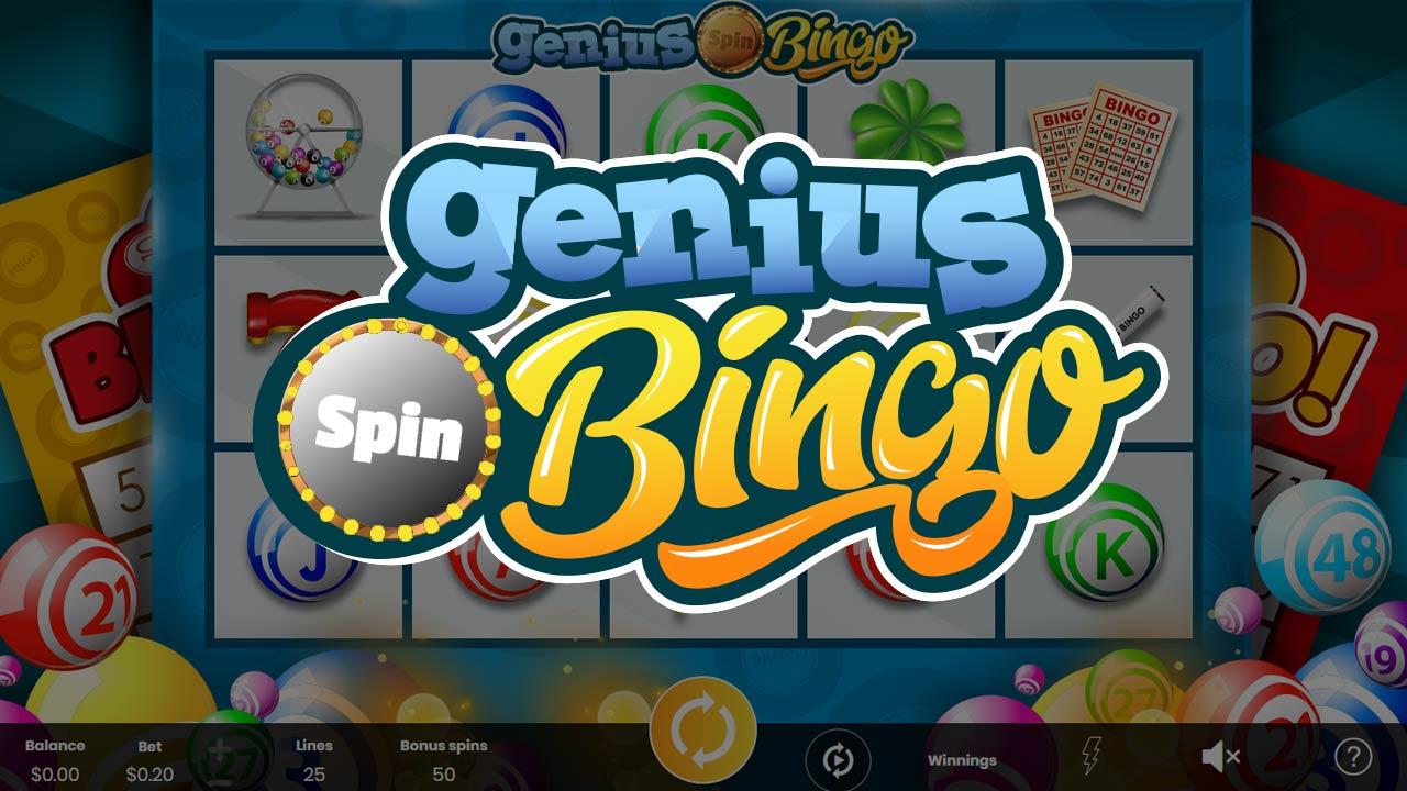 Genius Bingo - Online Slot Logo