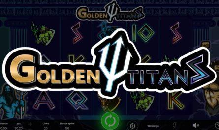 Golden Titans - Online Slot Logo