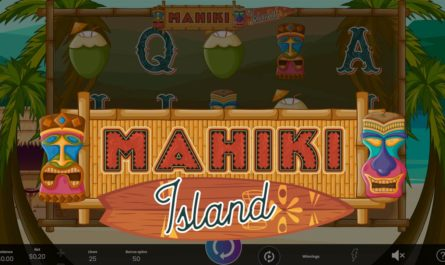 Mahiki Island - Online Slot Logo