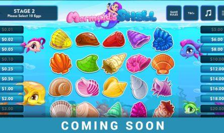 Mermaids Shell - Bonus Game
