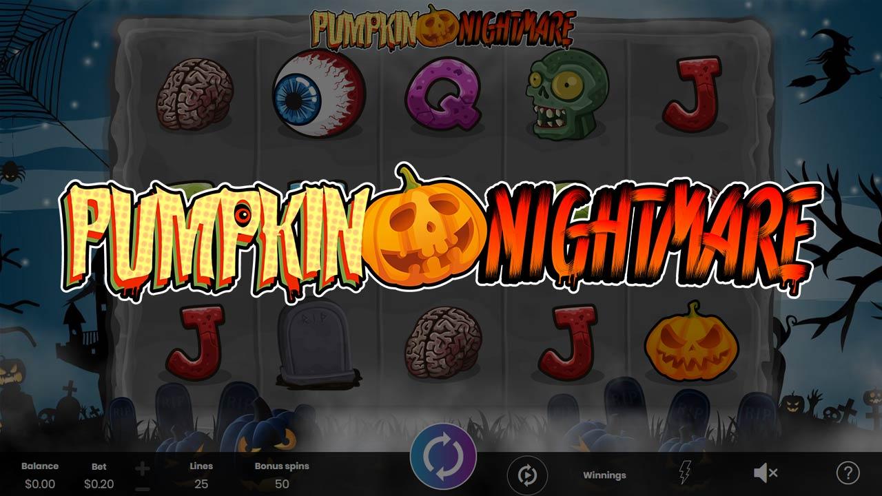 Pumpkin Nightmare - Online Slot Logo