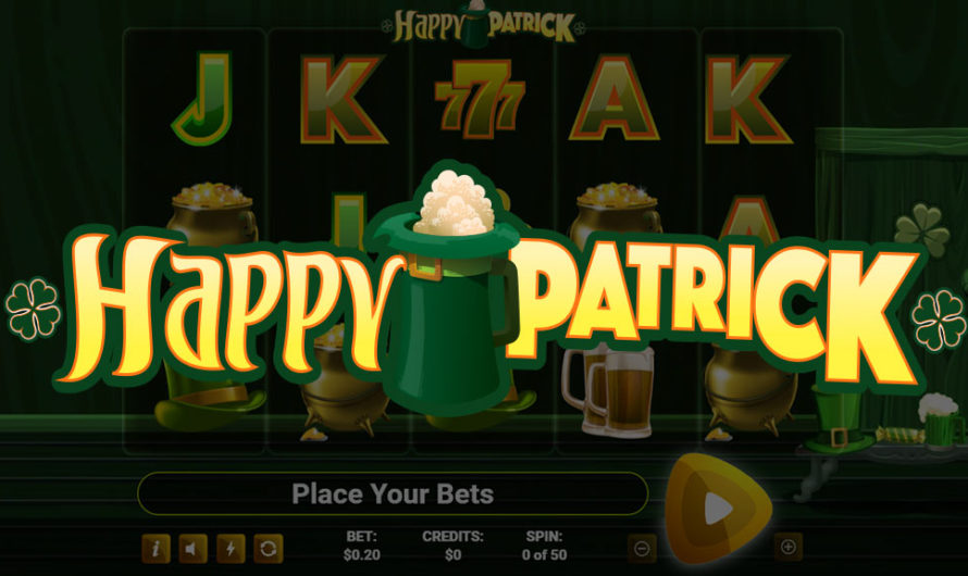 50 Free Spins – Happy Patrick