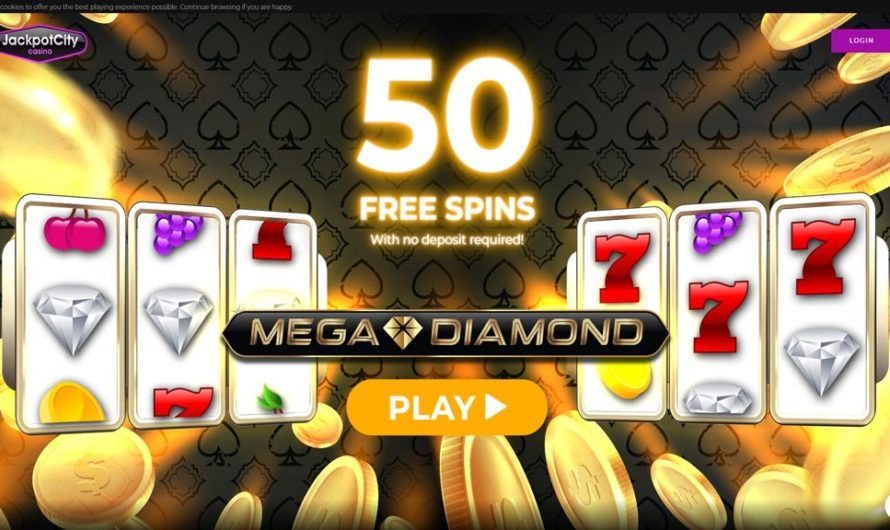 50 Free Spins – Mega Diamond