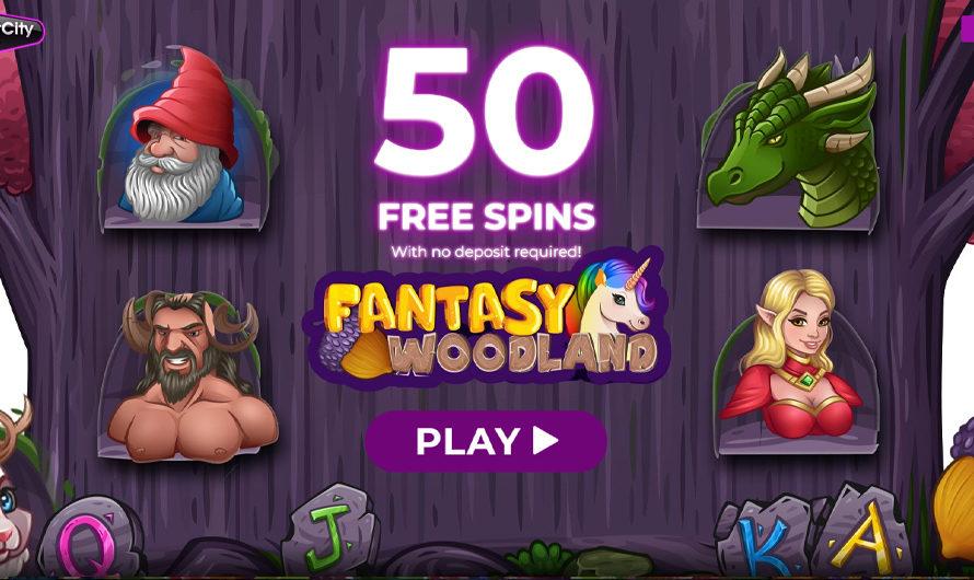 50 Free Spins – Fantasy Woodland