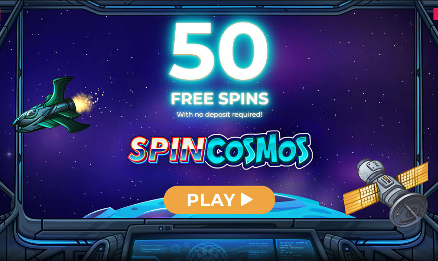 50 Free Spins – Spin Cosmos