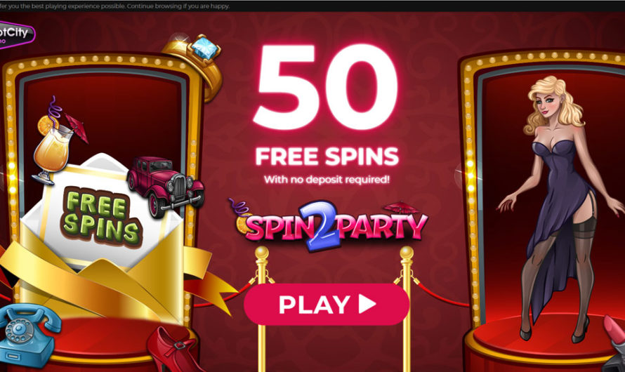 50 Free Spins – Spin 2 Party