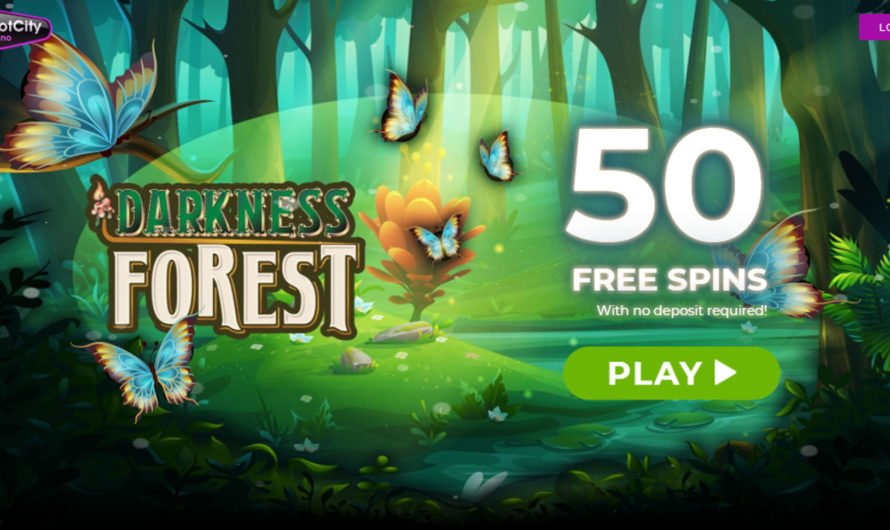 50 Free Spins – Darkness Forest