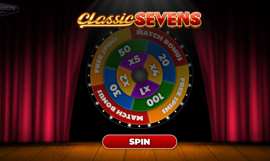 Multi Win Wheel – Classic Sevens